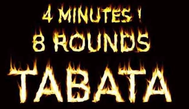 タバタ式トレーニングの真実!たった4分で1時間のダイエット効果は本当か!?