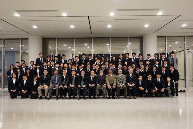 筑波大学スポーツ医学研究室のメンバー集合写真