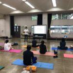 交流センターにて運動&食習慣講座を行いました!